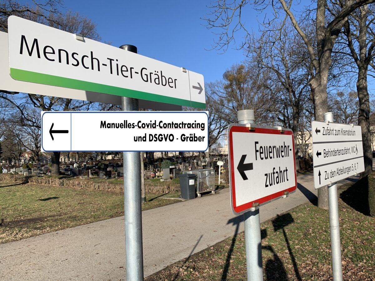 DSGVO Gräber am Wiener Zentralfriedhof